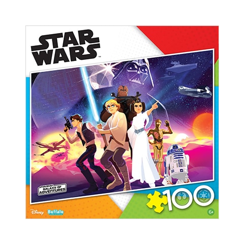 Rebel Heroes 100 Piece Jigsaw Puzzle