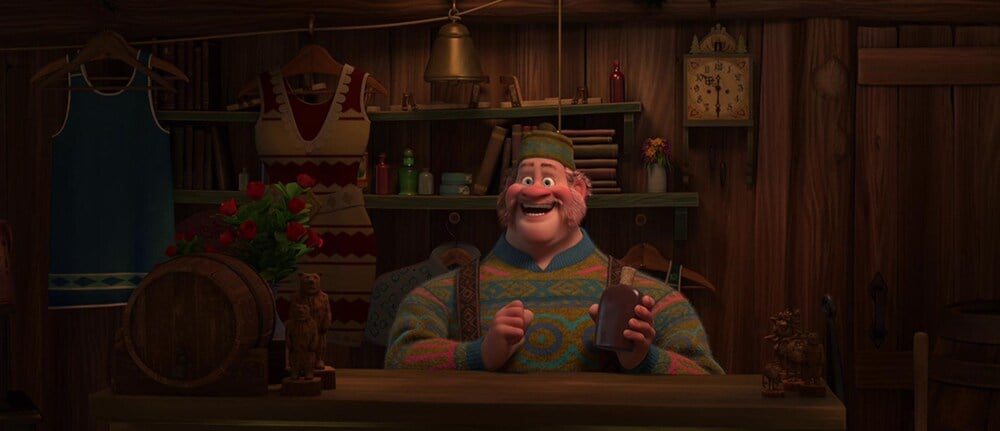 "Animated Character Oaken from the film ""Frozen"""