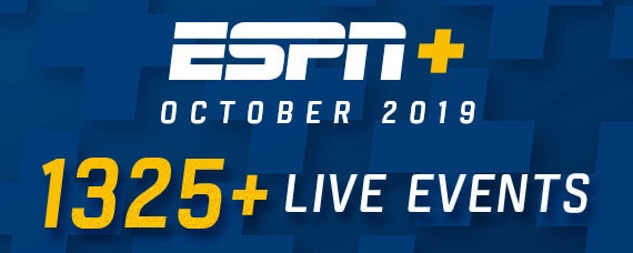 October ESPN+ Highlights
