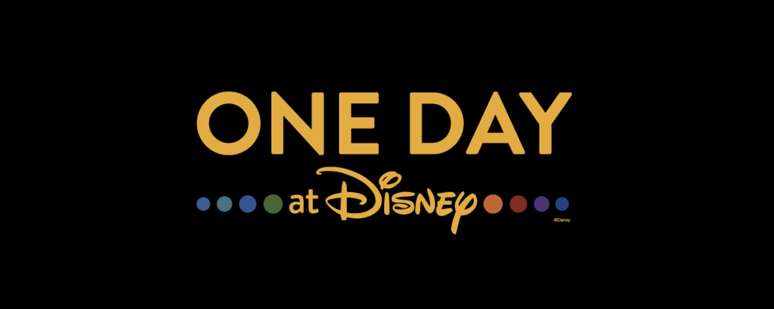 "Disney Publishing Worldwide and Disney+ Announce ""One Day at Disney"""