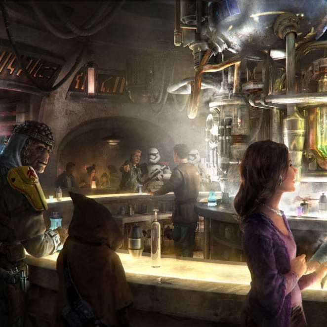 We Can't Wait to Visit Oga's Cantina at Star Wars: Galaxy's Edge!