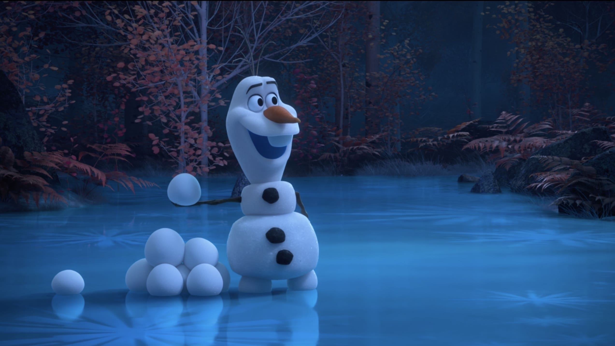 "Watch the New Digital Series ""At Home With Olaf"""