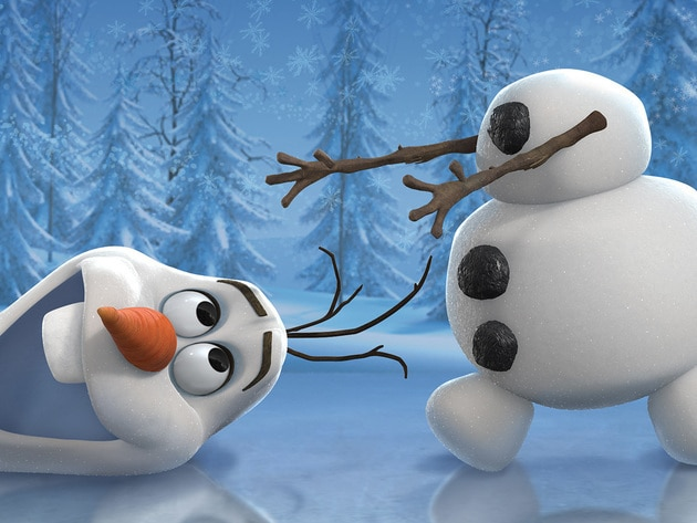He's Olaf and he likes warm hugs. He is by far the friendliest snowman to walk the mountains abov...