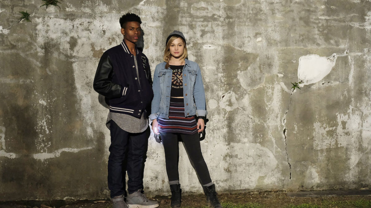 Watch Marvel's Cloak and Dagger's Olivia Holt & Aubrey Joseph Interview Each Other
