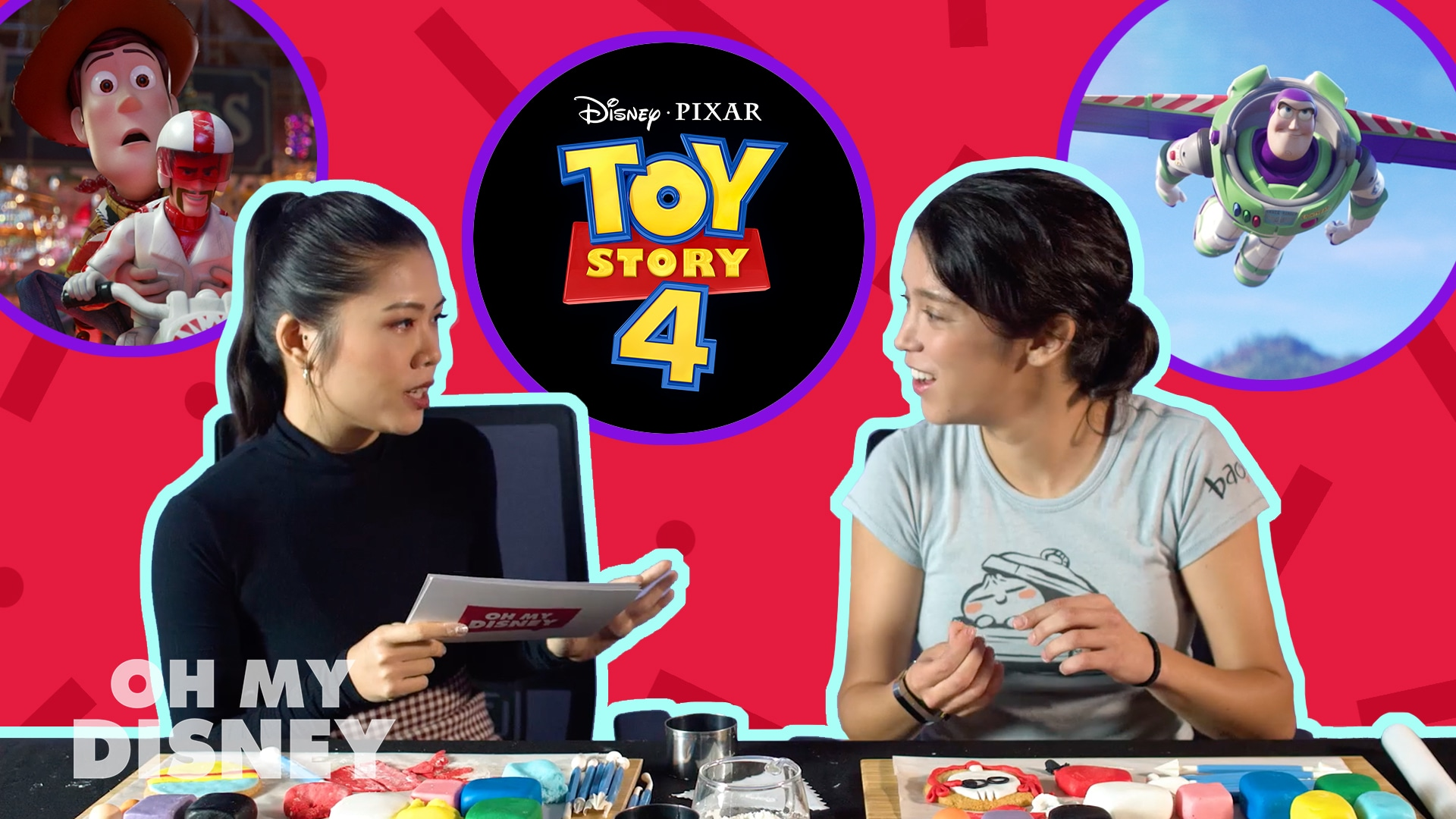 "Toy Story 4 ""This Or That"" With Pixar Artist Mara Macmahon!"
