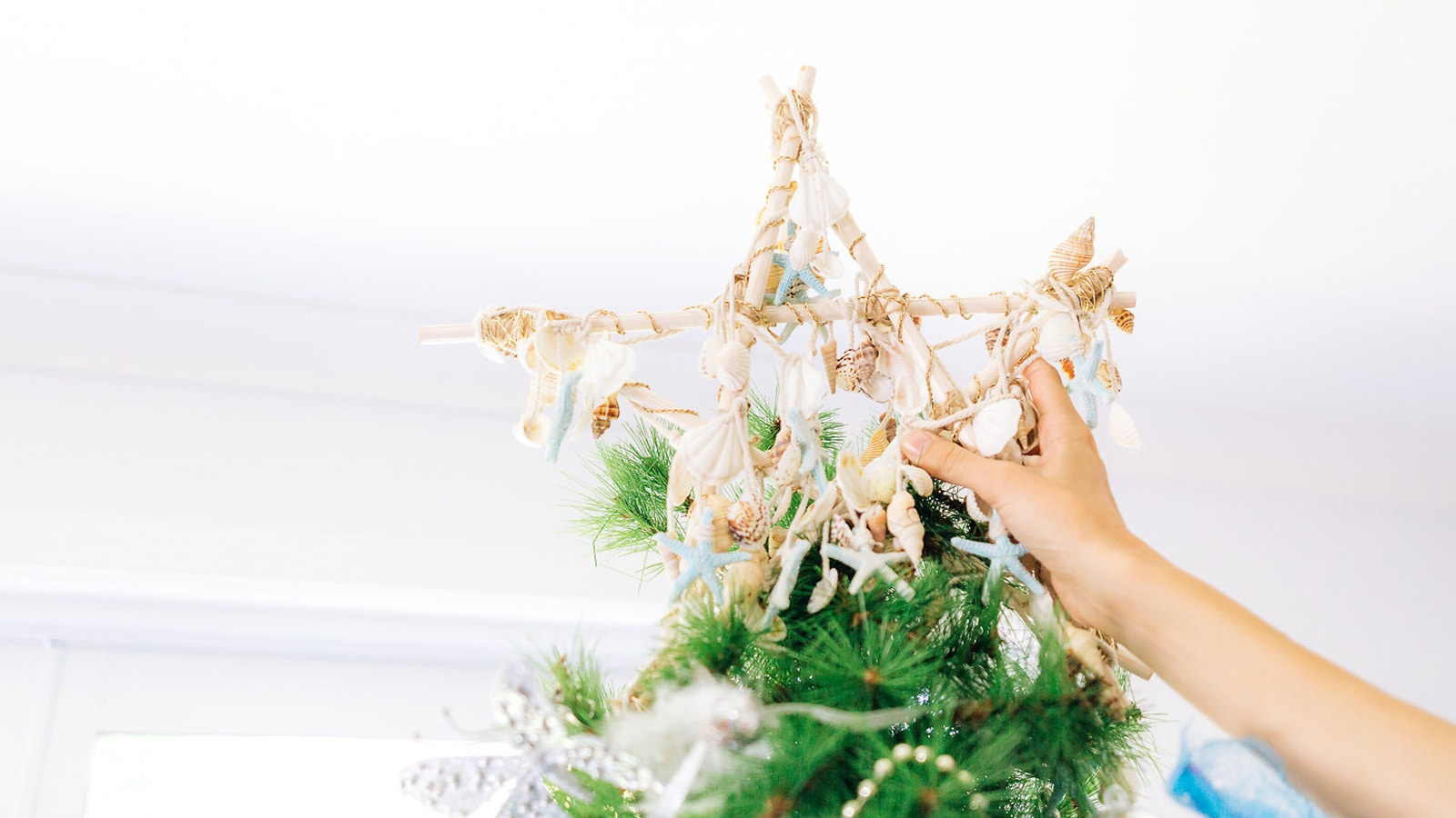 DIY Ocean-Inspired Tree Topper