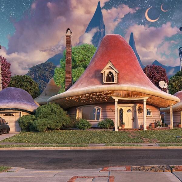 ¡Agrega fondos de la película Unidos de Disney y Pixar, para tus reuniones virtuales!