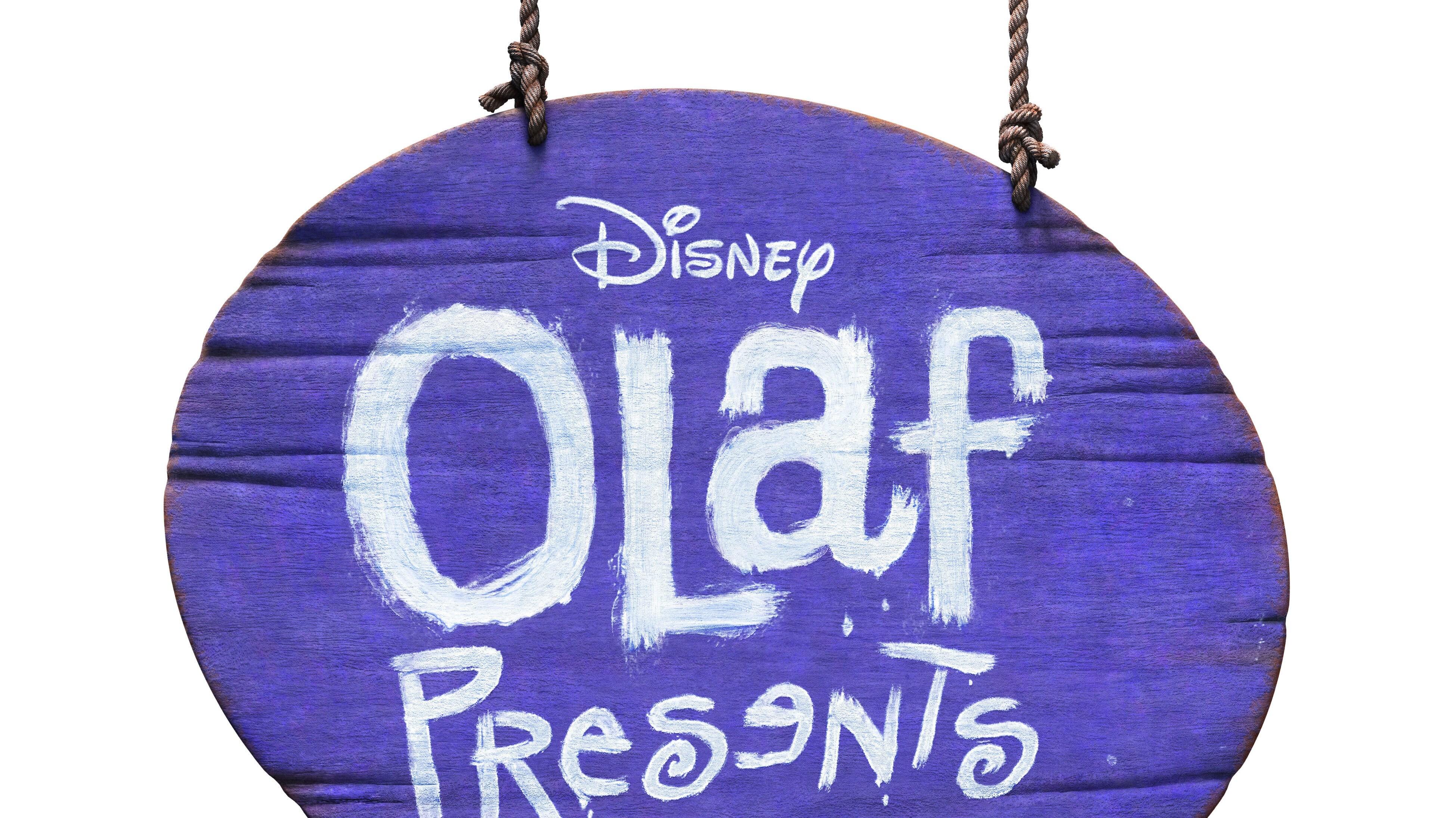 Olaf Presents Logo - White