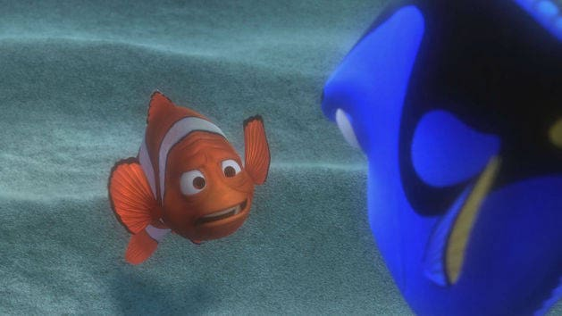 Falta de memoria de corto plazo - Buscando a Nemo