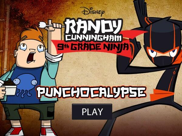 Randy Cunningham Punchocalypse Disney Lol Games