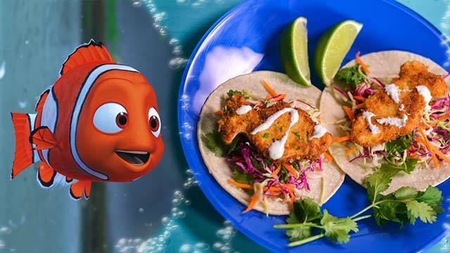Nemo's No Fish Tofu Tacos