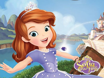 New! Sofia The First: The Secret Library DVD