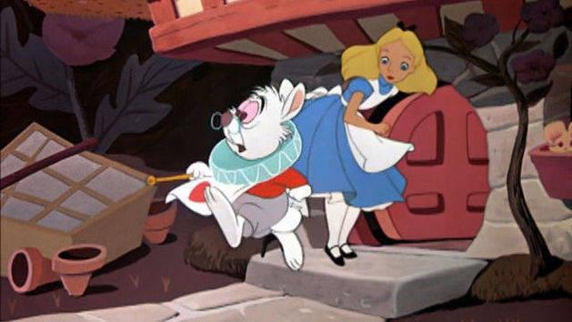 La casa del Conejo blanco - Alicia en El País de las Maravillas