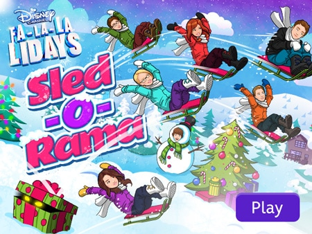 Disney Channel - Sled-O-Rama
