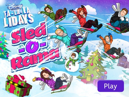 Disney Channel Sled-o-Rama