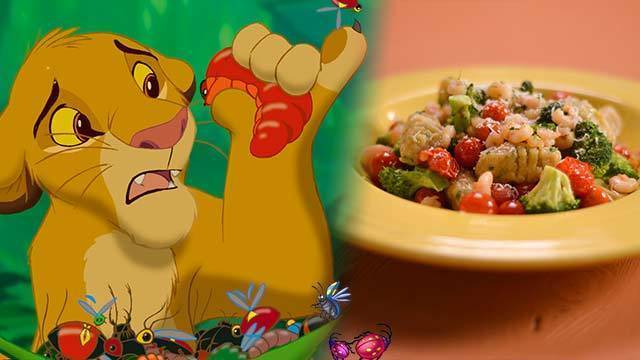 Simba's Slimy Yet Satisfying Grub Gnocchi