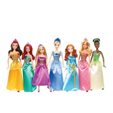 Disney Princess Ultimate 7 Pack Doll Collection