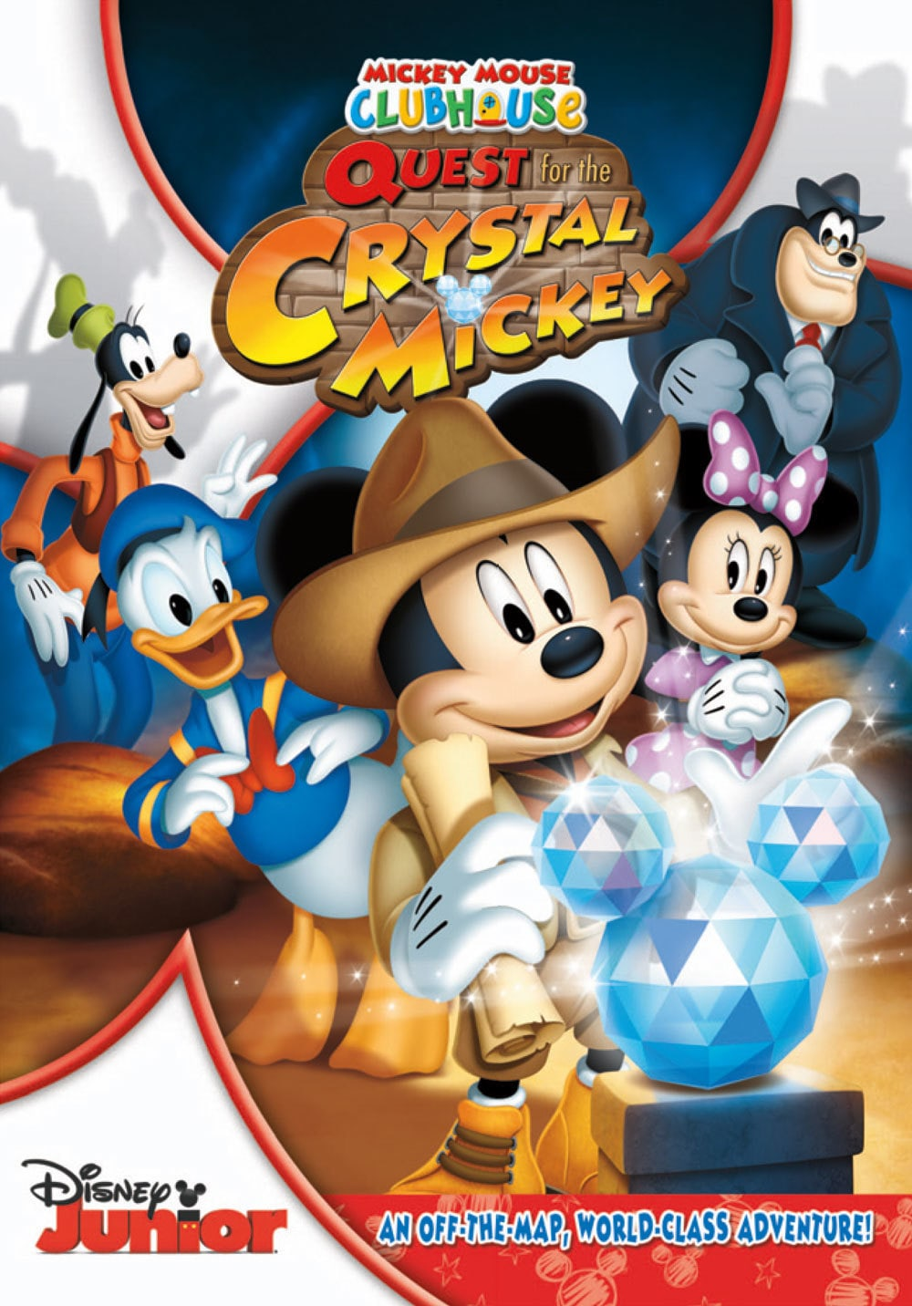 Disney Movie World Map.Mickey Mouse Clubhouse And The Quest For The Crystal Mickey Disney