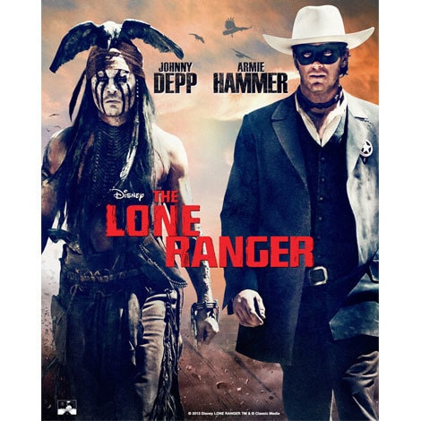 the lone ranger products disney movies