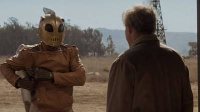 The Rocketeer Saves Malcolm