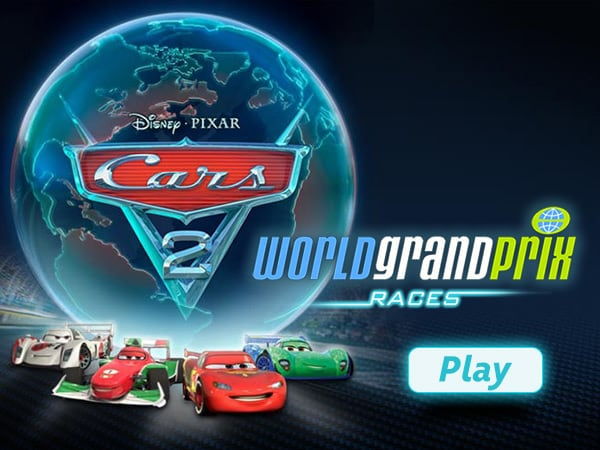 cars 2 world grand prix disney lol games