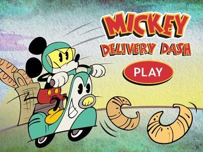 Mickey Delivery Dash