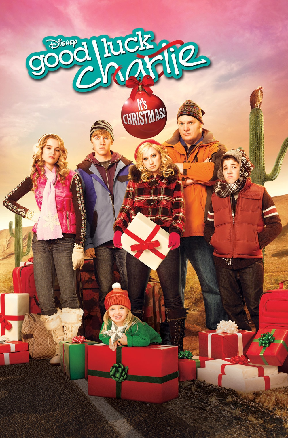 Good luck charlie it 39 s christmas disney channel for What channel are christmas movies on