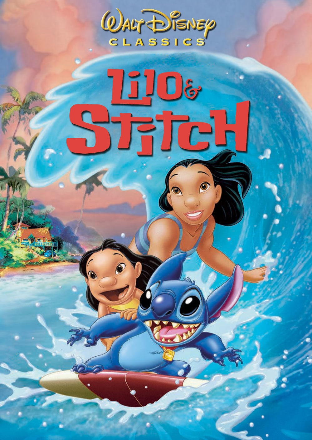 Image result for lilo and stitch movie poster disney""