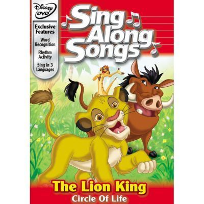 Sing Along Songs: The Lion King Circle Of Life DVD