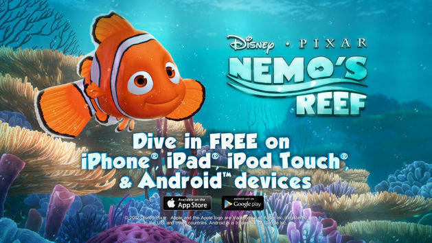 แอพ Nemo's Reef - พร้อมใช้งานได้ฟรี