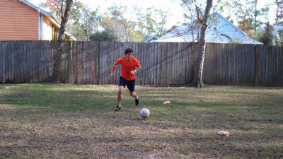 How to Dribble like a Winger in Soccer