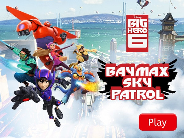Big Hero 6 - Baymax Sky Patrol