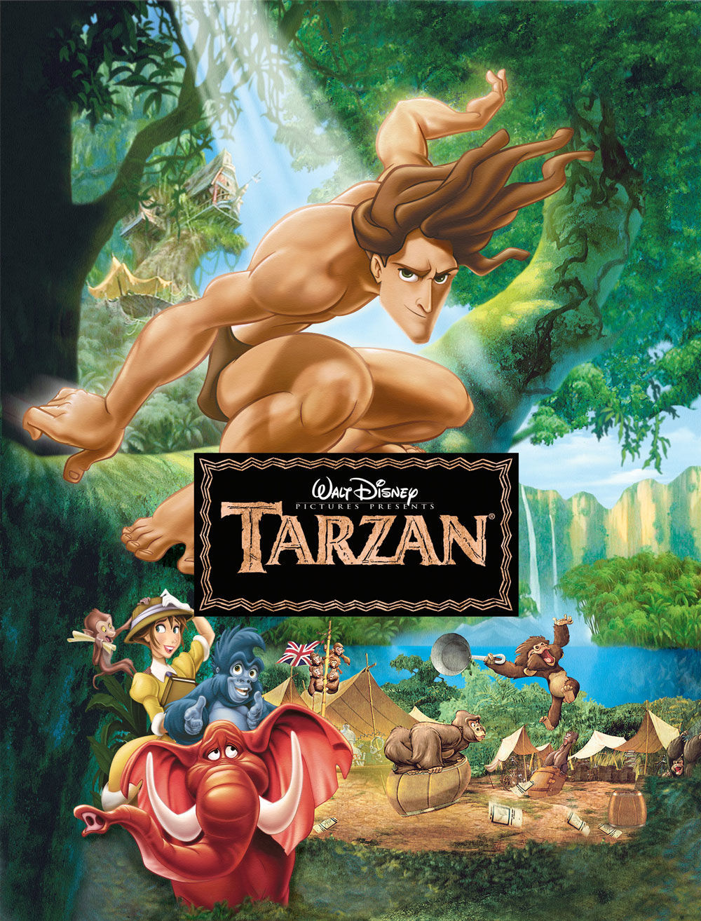 Toy Thumb Fictional Character Brown Hair Hand Tarzan