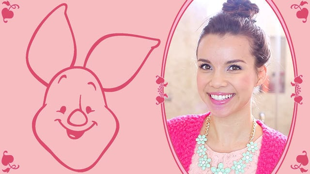 Piglet Lookbook - A Disney Exclusive by Missglamorazzi DIY
