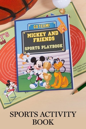 Sports Activity Book