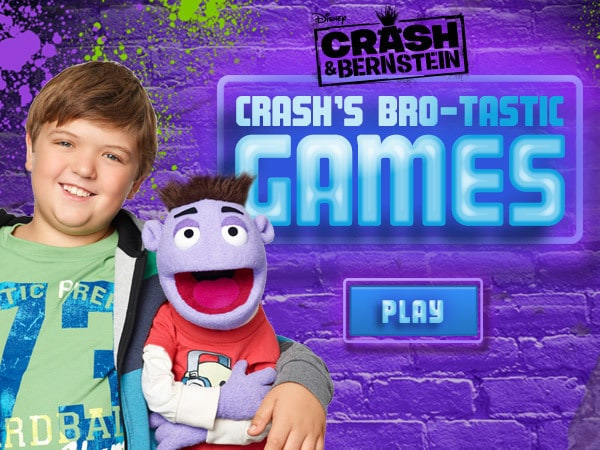 Crash's Bro-tastic Games