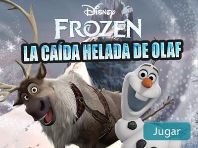 La caída helada de Olaf