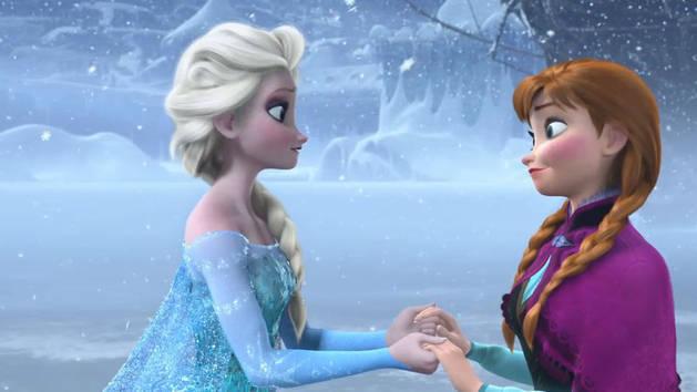 Original Theme and Artwork Frozen