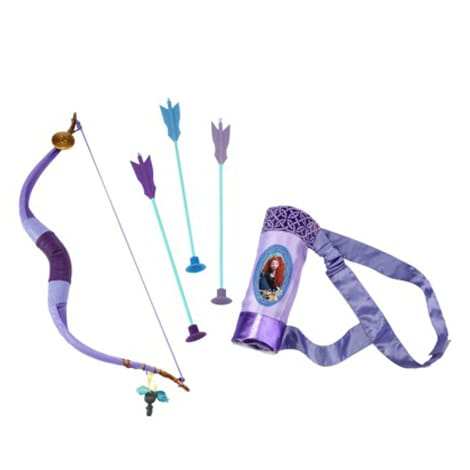 Disney Princess Merida's Bow and Arrow Purple Adventure Set