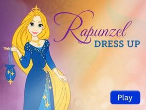 Disney Princess: Rapunzel Dress Up App