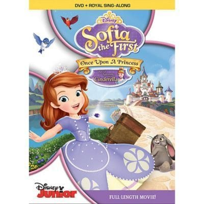 Once Upon A Princess DVD
