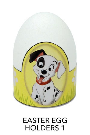 101 Dalmatians - Easter Egg Holders 1