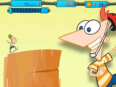 Phineas And Ferb Hoverboard Tour