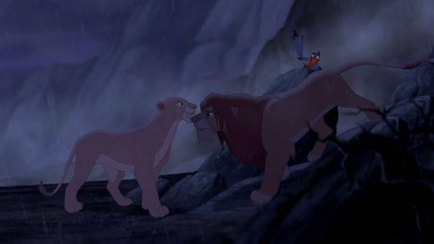 A través de las cenizas - El Rey León