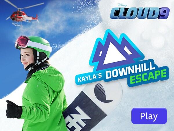 Cloud 9 - Kayla's Downhill Escape