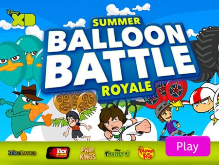 Big Balloon Battle
