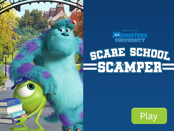 Monsters University - Scare School Scamper