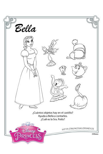 Actividades con Bella