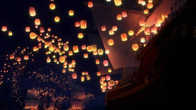 Lanterns Disney Video