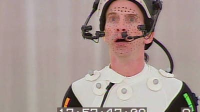 Launched Into Space Motion Capture